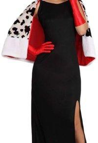 Atosa-15712 Disfraz Mujer Cruel, color negro, XS-S (15712)