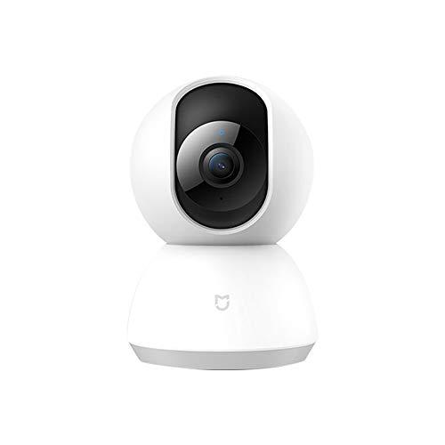 Xiaomi Dome Camera HD 1080P Sistema di telecamere IP di sicurezza per la sorveglianza di sicurezza wireless con Motion Tracker, Activity Alert, Visione notturna, Android iOS