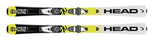 Head Supershape Team SLR II da sci alpino, 137SLR 7.5AC freno 78[H] bianco