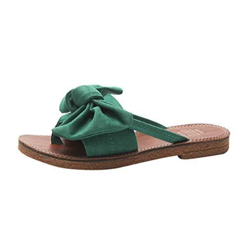Honestyi  Pantofole Donna Punta a Punta Piatta con Fondo Morbido Antiscivolo, Scarpe da Spiaggia,...