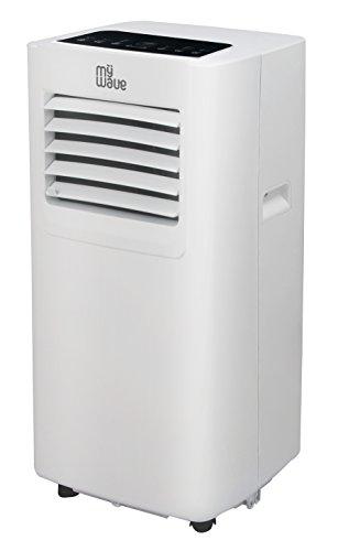 Aire Acondicionado portátil 3 en 1. Refrigeración, ventilación y deshumidificación. 1750 Frigorías - 7000 BTU Nivel de Ruido ≤53dB (A). Mando a Distancia y Temporizador 24 Horas