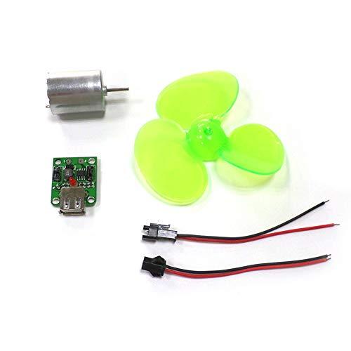 Soulitem- Juego de generador de energía eólica portátil para turbina, alternador de Motor, Cargador de teléfono de Emergencia