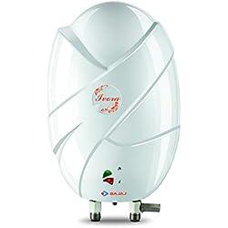 Bajaj Ivora Instant 3-Litre Vertical Water Heater, White