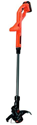 Black+Decker ST182320 Batería cortabordes y desbrozadora - Cortacésped (String trimmer, Nylon line, 1,6 mm, 9000 RPM, 25 cm)