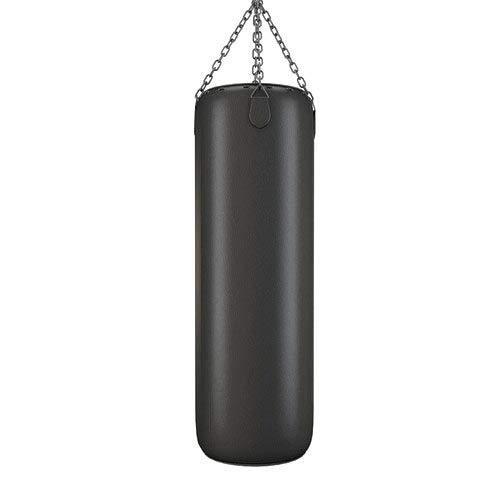 RV Black Strong and Rough Punching Bag for Boxing, Kick Boxing, Taekwondo, Muaythai, Mixed Martial Arts, Karate (Unfilled Bag) (36 Inch)