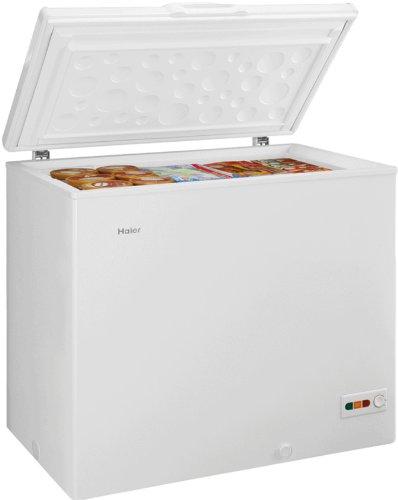 Haier BD203RAA Libera installazione Orizzontale 203L A+ Bianco congelatore