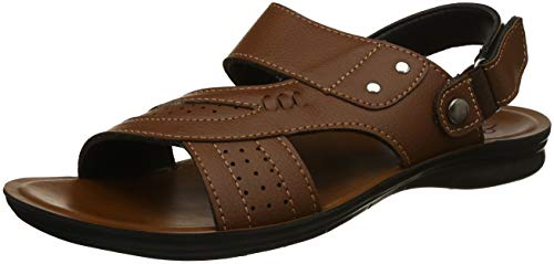 Bond Street by (Red Tape) Men's RSP011 Brown Sandals-7 UK/India (41 EU) (RSP0112-7)