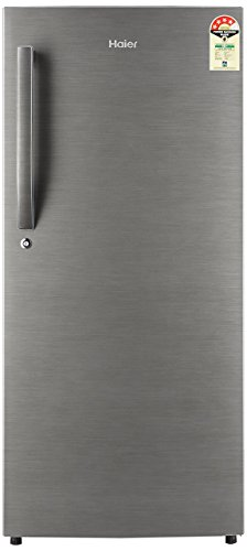 Haier 195 L 4 Star Direct-Cool Single Door Refrigerator (HRD-1954BS-E/HED-20FDS,Brushed Silver/Dazzle Steel)