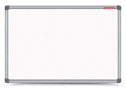 Dry Erase - Lavagna magnetica con cornice in alluminio, 80 x 60 cm