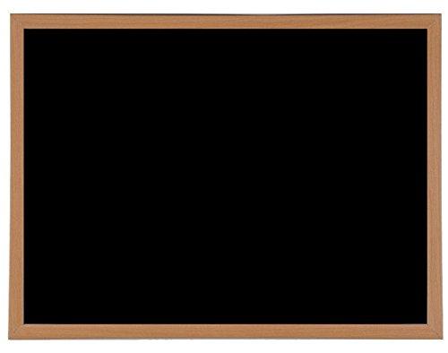 90cm x 60cm Resistente Magnetico Gesso Lavagna Legno Incorniciato Lavagnetta & Fissaggi
