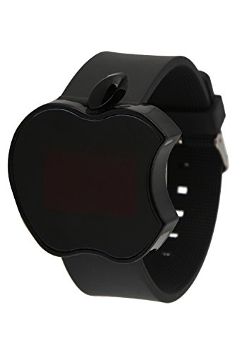 Elios Digital Black Dial Unisex Watch Apple-BLK