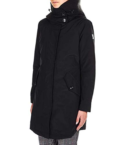 Woolrich Luxury Fashion Donna WWCPS2804UT0001BLK Nero Piumino   Autunno Inverno 19