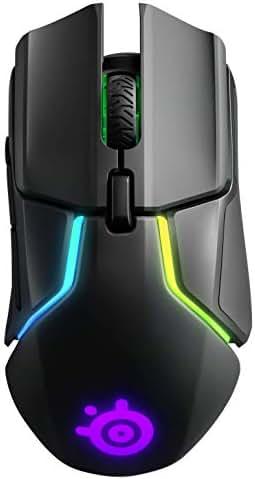 SteelSeries Rival 650 - Quantum Wireless Gaming-Mouse - dualen optischen Sensor - einstellbarer Lift-off-Distanz - abstimmbaren Gewichtssystem