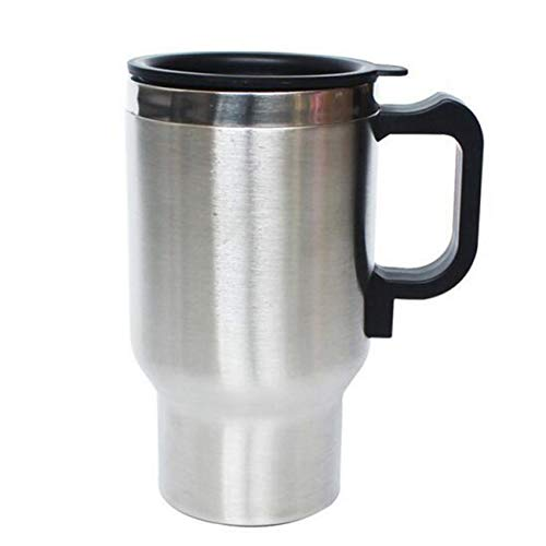 WJJJ Auto Electric Car Cup Cooler/Warmer Electric Heating Cup Car Heated Stainless Steel Car Mug...