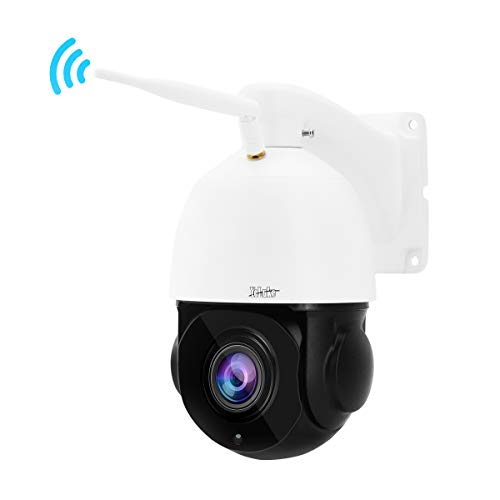 Telecamera IP PTZ Telecamera dome WiFi con audio Zoom ottico 20X 2MP Pixel Supporta ONVIF e Motion Detection Visione notturna IR fino a 60 m