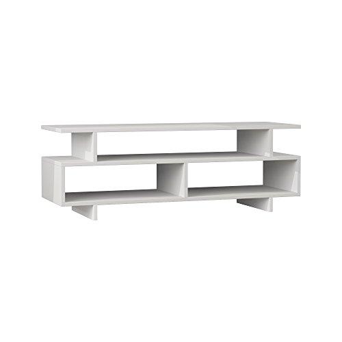 Hocuspicus - Mobile porta TV dal design moderno, per soggiorno fino a 55 pollici, 120 x 40 x 42 cm,...