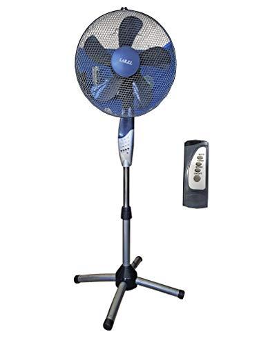 Ventilatore a piantana colonna LAREL 40BX7T 40 cm SILVER con telecomando TIMER