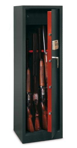 Technosafe - Armadio per 10 fucili, con serratura elettronica, Codice dell'articolo: TCE/10