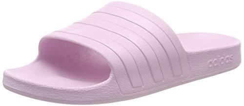 adidas Adilette Aqua, Scarpe da Spiaggia e Piscina Unisex Adulto, Rosa Aero S18/Aero Pink S18, 43 EU