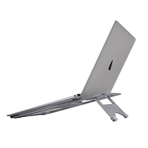 NATOL Supporto Notebook, Supporto per PC Portatile 11'-15.6' Pieghevole e Laptop Stand Alluminio con...