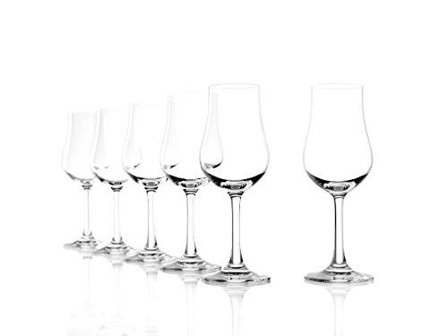 Bicchiere per distillati Stölzle Lausitz Classic 185ml, servizio da 6, lavabile in lavastoviglie, bicchiere da whisky