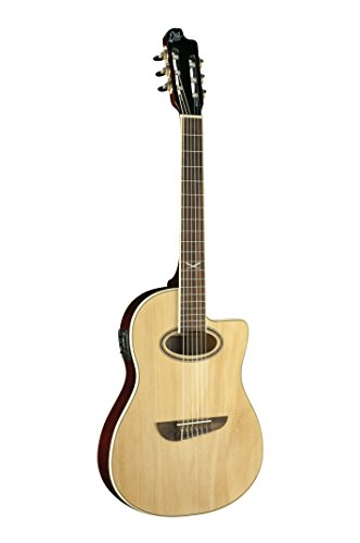 EKO Guitars Nxt Nylon CW EQ, Chitarra Acustica, Marrone (Natural)
