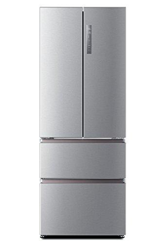 Haier HB16FMAAA Libera installazione 424L A++ Alluminio, Acciaio inossidabile frigorifero...