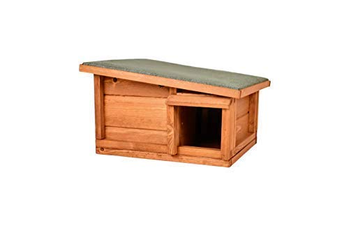 The Hutch Company Predator Proof Hedgehog House & Hibernation Shelter is our top recommended hedgehog house