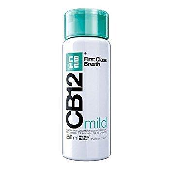 CB12 250ML'PACK 6 DOUX MENTHE sécurité Haleine Hygiène Buccale Agent 21