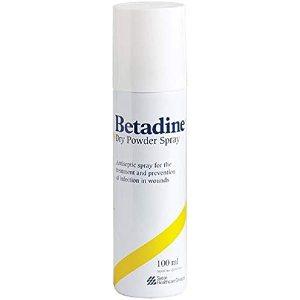 Betadine 9X0061 Anti-Microbial Dry Powder Spray, 100ml: Amazon.co.uk:  Business, Industry & Science