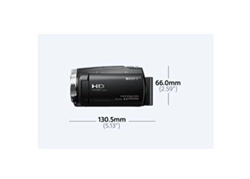 Sony HDRCX625B.CEN - Videocámara (sensor Exmor R CMOS, zoom óptico de 30 aumentos, XAVC S, balanced optical SteadyShot con 5 ejes y cámara lenta) negro