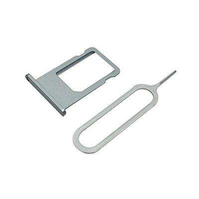 Cemobile Vassoio supporto Porta carta SIM Slot di ricambio per iPhone 6 4,7 pollici (Grigio)