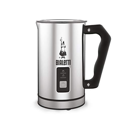 Bialetti 0004430 Montalatte Elettrico, capacità 240 ml, 500 W, 1 tazza, Acciaio Inossidabile,...