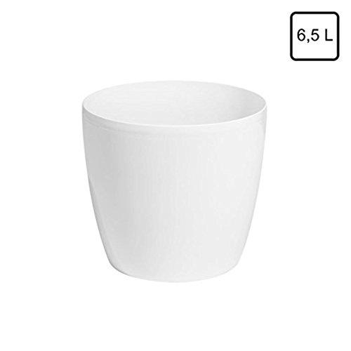 "Prosper Plast duo400-s44940x 36,5cm \""Coubi\"" Blumentopf, weiß  1 stuck"
