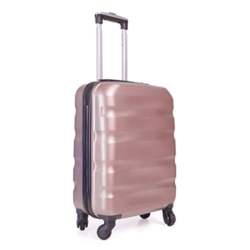 55x40x20cm Lightweight Ryanair Maximum Size Carry On Hand Cabin Luggage Suitcase,Bagaglio a Mano...