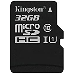 Kingston SDC10G2/32GBSP - Tarjeta microSD de 32GB (Clase 10 UHS-I 45MB/s) Tarjeta Sola