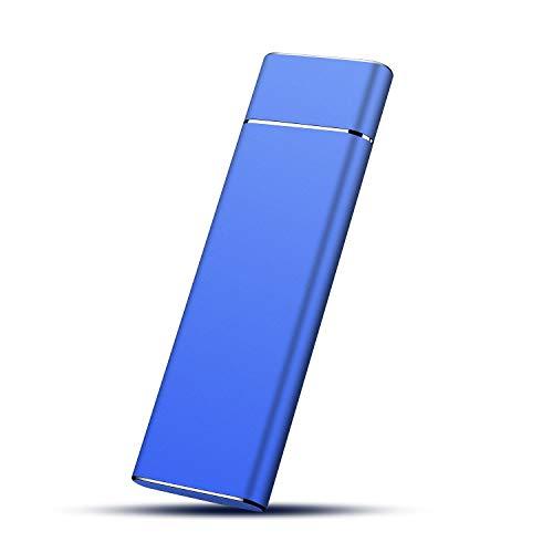 Hard Disk 1TB Esterno, Type-C USB 3.1Hard Disk Esterno Ultra Slim Storage per Mac, Xbox, PS4, PC,...