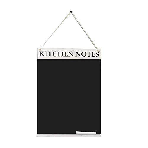 Chalkboards UK Kitchen Notes lavagnetta, Legno, Bianco Washed