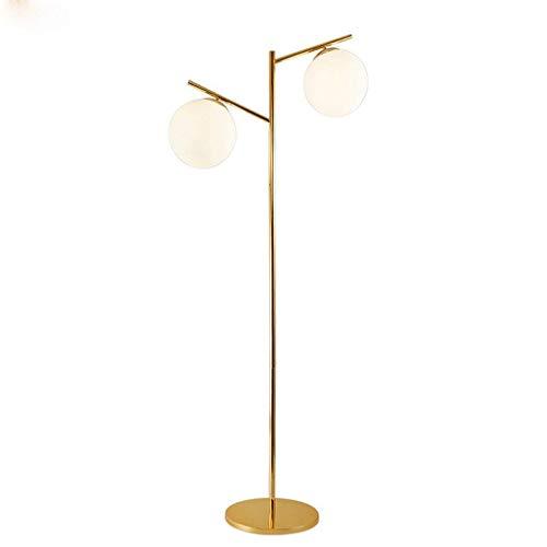Mnjin Lampada da Terra a LED Camera da Letto Illuminazione Interna Hall Divano Divano Illuminazione Interna Lampada da Terra