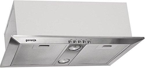 Gorenje DKI550M cappa aspirante 520 m³/h Integrato Argento, Bianco
