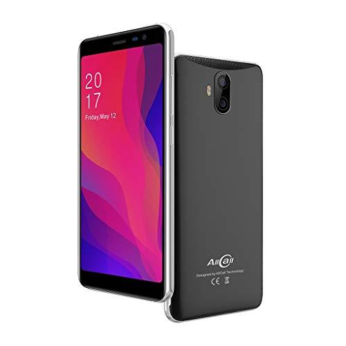 TianranRT Allcall Rio X 5.5 '' 18: 9 3G Intelligent Téléphone 8 Go Android 8.1 MTK6580M GPS Double Appareil photo (Noir)