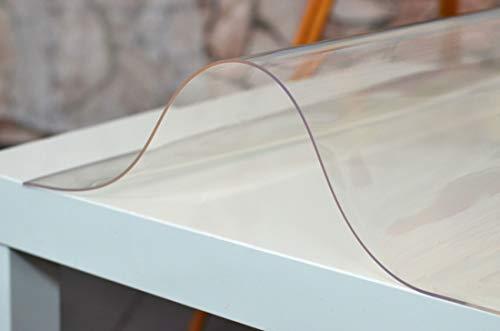 PVC tavolo pellicola protettiva tovaglia tavolo protezione trasparente Larghezza: 80 cm, 110 cm