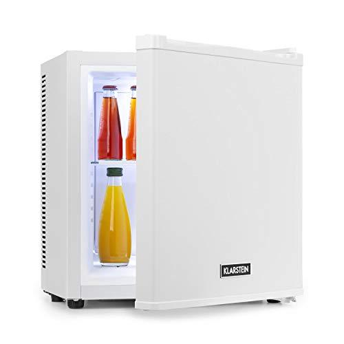 KLARSTEIN Secret Cool - Mini Frigo, Minibar, Frigorifero per Bevande, Classe A+, 13 Litri, 0 dB,...
