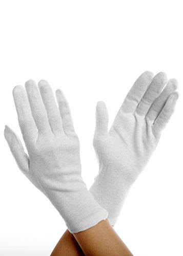 BIGGI BIG Tights Gloves Collant realizzati in cotone al 100%-bianco-one-size