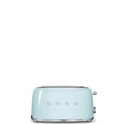 SMEG Tostapane TSF02PGEU, Acciaio Inossidabile, 2 Scomparti, Verde Pastello