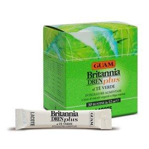 GUAM - Britannia DREN Plus al Tè Verde 30 bustine da 12ml