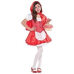 Amscan - 999 708 - Caperucita Roja Disfraz - 4-6 Años