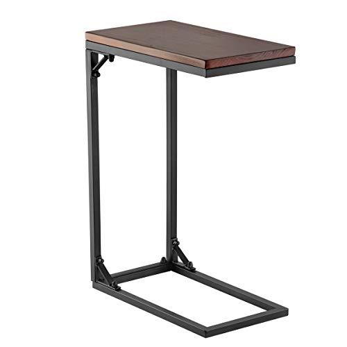 GIGALUMI Tavolino da Salotto Divano Tavolino Tavolino con Struttura in Metallo Legno Naturale per...