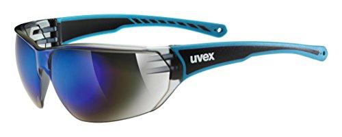 Uvex Erwachsene sportstyle 204 Sportbrille, Blue, One Size