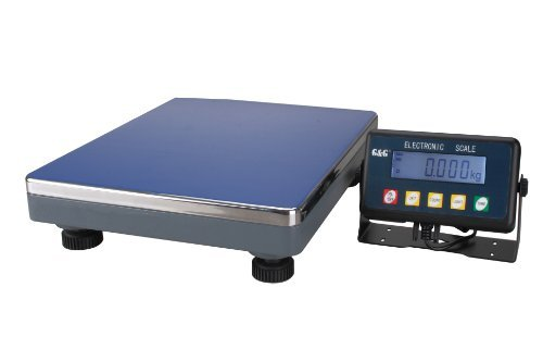 GundG PSE75K - Bilancia digitale compatta a piattaforma, per industria, 75kg/5g, utilizzabile a...